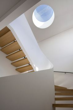 Space4Architecture adds White Snake staircase to New York townhouse