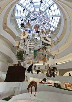 Installation Views - Maurizio Cattelan: All by Solomon R. Guggenheim Museum, via Flickr
