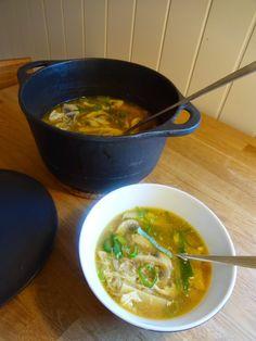 "Edel's Mat & Vin : Pekingsuppe med kylling a'la Edel c"",)"