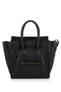 Céline Micro Luggage Shopper Bag