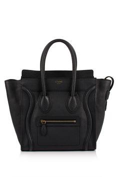 Céline Micro Luggage Shopper Bag