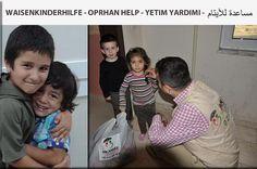 Waisenkinder bekommen Hilfe in Istanbul/Türkei. Neue Flüchtlingsfamilien sind eingetroffen und brauchen Hilfsleistungen. Die Hilfsorganisation zur Verteidigung der Menschenrechte und Brüderlichkeit IMKANDER kümmert sich erfolgreich um die Waisenkinder und ihre Familien.