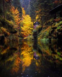 WEBSTA @ beautifuldestinations - Autumn reflections  (: @sassychris1)