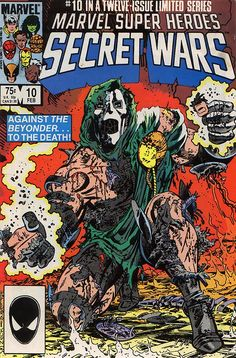 Secret Wars #10 cover by Mike Zeck