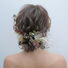 Wedding Hair Flowers, Wedding Hair And Makeup, Flowers In Hair, Boho Wedding, Hair Makeup, Aqua Wedding, Bridesmaid Hair, Prom Hair, Western Hair