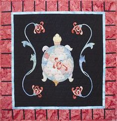 When you pick a pattern, you're directly supporting independent designers in our Pattern Marketplace. Easy Quilt Patterns, Sewing Patterns, Quilting Ideas, Applique Wall Hanging, Turtle Quilt, Book Quilt, Easy Quilts, Kids Rugs, Crafty