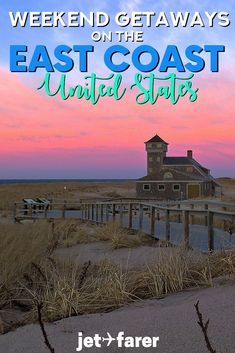 Need to escape your city in the United States for a bit? These 20 incredible wee… Need to escape your city in the United States for a bit? These 20 incredible weekend getaways on the East Coast of the United States will make you want to pack your bags! East Coast Beaches, East Coast Usa, East Coast Travel, East Coast Road Trip, East Coast Family Vacations, New Travel, Travel Usa, Travel Tips, Usa Roadtrip
