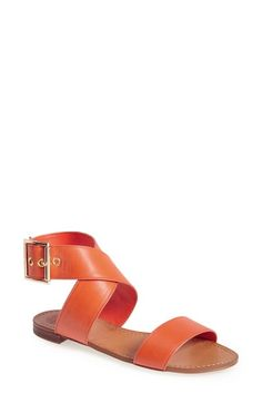 Vince Camuto 'Maren' Leather Ankle Strap Sandal (Women) available at #Nordstrom