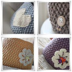 - SmåØyeblikk -: Pannebånd |oppskrift| Diy Crafts Knitting, Knitting Projects, Knitted Hats Kids, Crochet Hats, Bandeau, Baby Knitting, Mittens, Headbands, Diy And Crafts