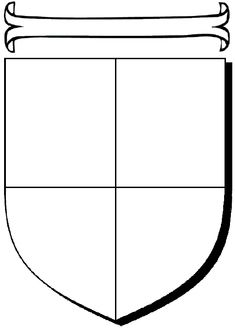 Make your own coat of arms simple kid and little ones for Make your own coat of arms template