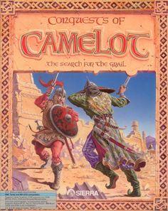 Conquests of Camelot Atari disk scan