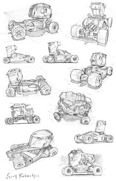 vehicle sketches CT.