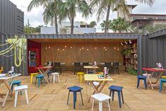 Restaurante Container   Galeria da Arquitetura
