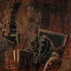 de l'autre côté du miroir: X - 100x100 - oil on canvas 2006
