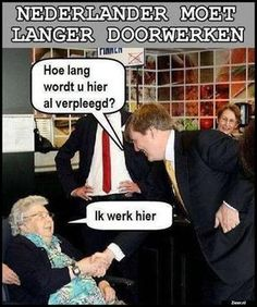 Eigenlijk is dit helemáál niet leuk, maar diep triest... Cute Funny Pics, Wtf Funny, Funny Photos, Funny Memes, Jokes, Punny Puns, Dutch Quotes, Funny Laugh, Funny Thoughts