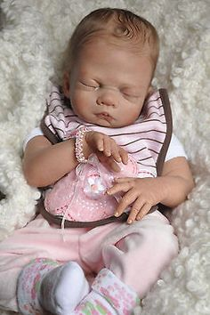 "Collectible Reborn Baby Doll KIT ""Suzanna"" by Olivia Stone  - Nicky Creation"