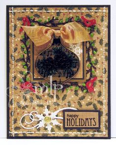 Prickley Pear Rubber Stamps: Ornaments 2 Clearly Beautiful Stamp Set, Ornament Die