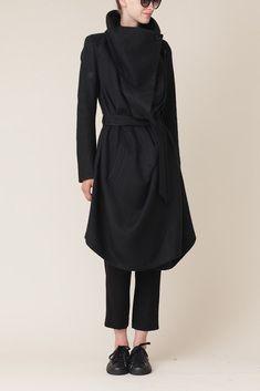 Ann Demeulemeester Cybelle Coat (Black)