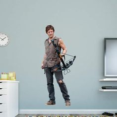 Fathead's entertainment wall decals are a decor gift for people passionate about TV, movies, video games & more. View our collection to find your favorite! Entertainment Wall, Dead Zombie, Daryl Dixon, The Walking Dead, Wall Decals, Sporty, Entertaining, Collection, Shopping