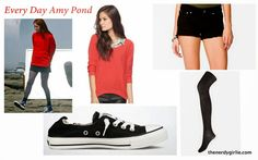 The Nerdy Girlie: Every Day Cosplay: Amy Pond #DoctorWho