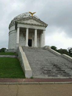 Illinois monument, Vicksburg National Military Park, Vicksburg, Mississippi