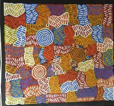Size: 87x95cm  Medium: Acrylic paint on canvas  D.O.B: c. 1954 Region…