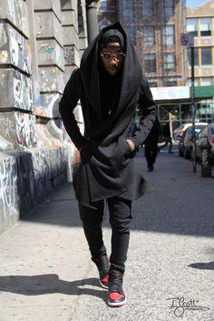 For more inspiring fashion (urban ninja, ninja goth, nu goth) follow DiamondOfTears.
