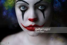 Photo : Sad clown