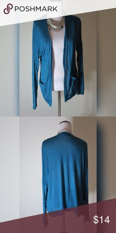 Teal Cardigan Very soft. Would look great with anything. Kirra Sweaters Cardigans
