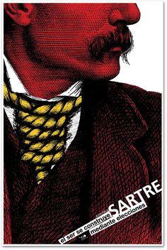 Manolo Guerrero, Tribute to Jean Paul Sartre