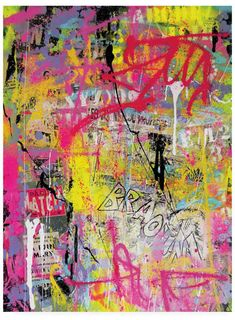 Trademark Global David Drioton Pink Paint Graffiti Canvas Art - 27 x Graffiti Alphabet, Graffiti Canvas Art, Banksy Graffiti, Graffiti Painting, Drip Painting, Street Art Graffiti, Artist Canvas, Graffiti Bedroom, Star Wars Logos