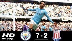 Manchester City vs Stoke City 7-2 All Goals & Extended Highlights (14/10/2017)