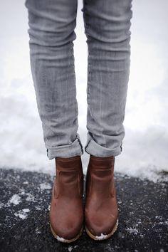 Little brown boots #HATCHFall13
