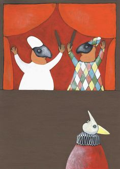 Pinocchio e i burattini (Pinocchio and the puppets) by Arianna Papini