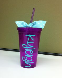 Personalized Acrylic Tumbler Cups