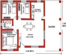 planos de complejo de cabañas - Buscar con Google