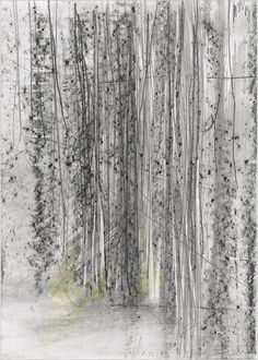 Gerhard Richter, 'Lines Which Do Not Exist' at Drawing Center - The New York Times