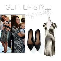 """""""Kate Middleton Style"""" by wzorcownia on Polyvore"""