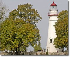 Beautiful #lighthouse at this state park in Marblehead.  We love to pack a picnic when we go!