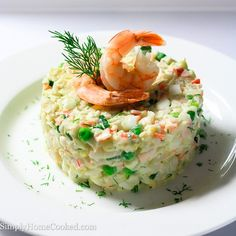 Have you ever had to bring some kind of dish to a last minute party or get together? And on top of that, you have absolutely no time to cook anything. Well this crab and shrimp salad might be your life saver in this kind of situation. No cooking required! Just chop, chop, chop and...Read More