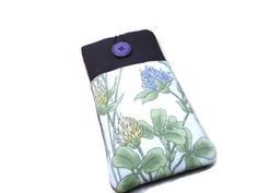 Wildflower case for iPhone 4 SE 5C 6S7 Samsung by AbbeyfieldsBags