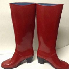 Marc Jacobs Shoes - marked down!!Marc Jacobs heeled rain boots