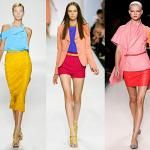 Bright, contrasting colors are spring/summer trend for 2012