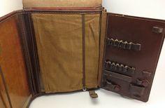 Vintage Soviet Officer Military Brown Leather от BestVintage4You