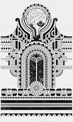 Polynesia by Alex Sidorenko, via Behance