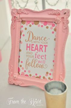 Ballet Themed Birthday Celebration via Pretty My Party