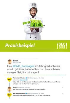 Die BVG (Berliner Verkehrsbetriebe) sind auch auf Twitter stets extrem schlagfertig | best of social media | Praxisbeispiel Community Management