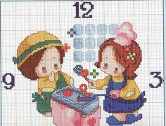 Plastic Canvas, Soda, Cross Stitch, Clock, Kids Rugs, Dots, Watch, Beverage, Punto De Cruz