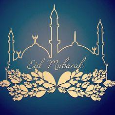 Eid Mubarak! Wishing you a blessed Eid! #Eid #uniquehijabs