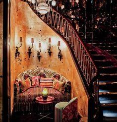 mojomade: Bohemian Gypsy Home Inspiration, - Bohemian Home Style Bohemian House, Bohemian Interior, Bohemian Living, Bohemian Gypsy, Casa Hipster, Hipster Decor, Interior Exterior, Interior Design, Gypsy Home